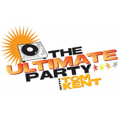 THE ULTIMATE PARTY with Tom Kent logo